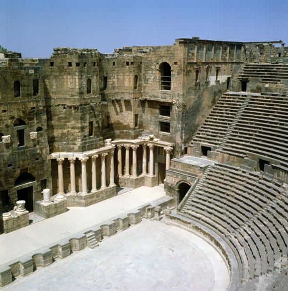 Roman theatre at Bosra