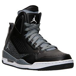 pretty nice 8dd13 fd3e4 Men s Jordan SC-3 Basketball Shoes   Finish Line   Black White Cool Grey