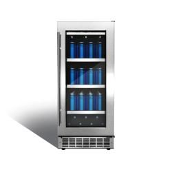"""DBC031D1BSSPR in by Silhouette in Long Beach, CA - Piedmont 15"""" single zone beverage center."""