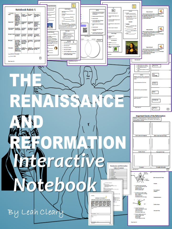 reformation lesson plans This super-engaging lesson has your students creating a pop up-like graphic organizer in their notebooks on martin luther and the protestant reformation.