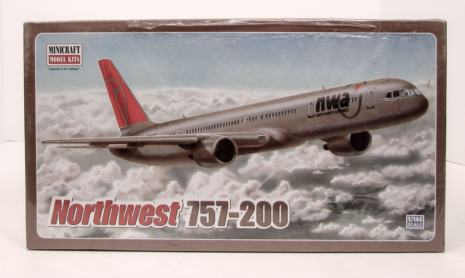 Northwest Orient delivery livery Boeing 757-200 decals for Minicraft 1//144 kit