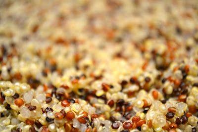 Organic Tri-color Quinoa from Trader Joe's
