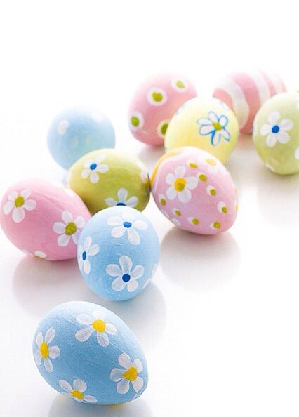 Cute Pastel Easter Eggs EaSter Pinterest Huevos decorados - huevos decorados