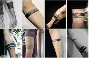 Tatuajes Elegantes Para Hombres Pulseras Tatuaje Lineas Tatuaje De Pulsera Tinta Para Tatuaje