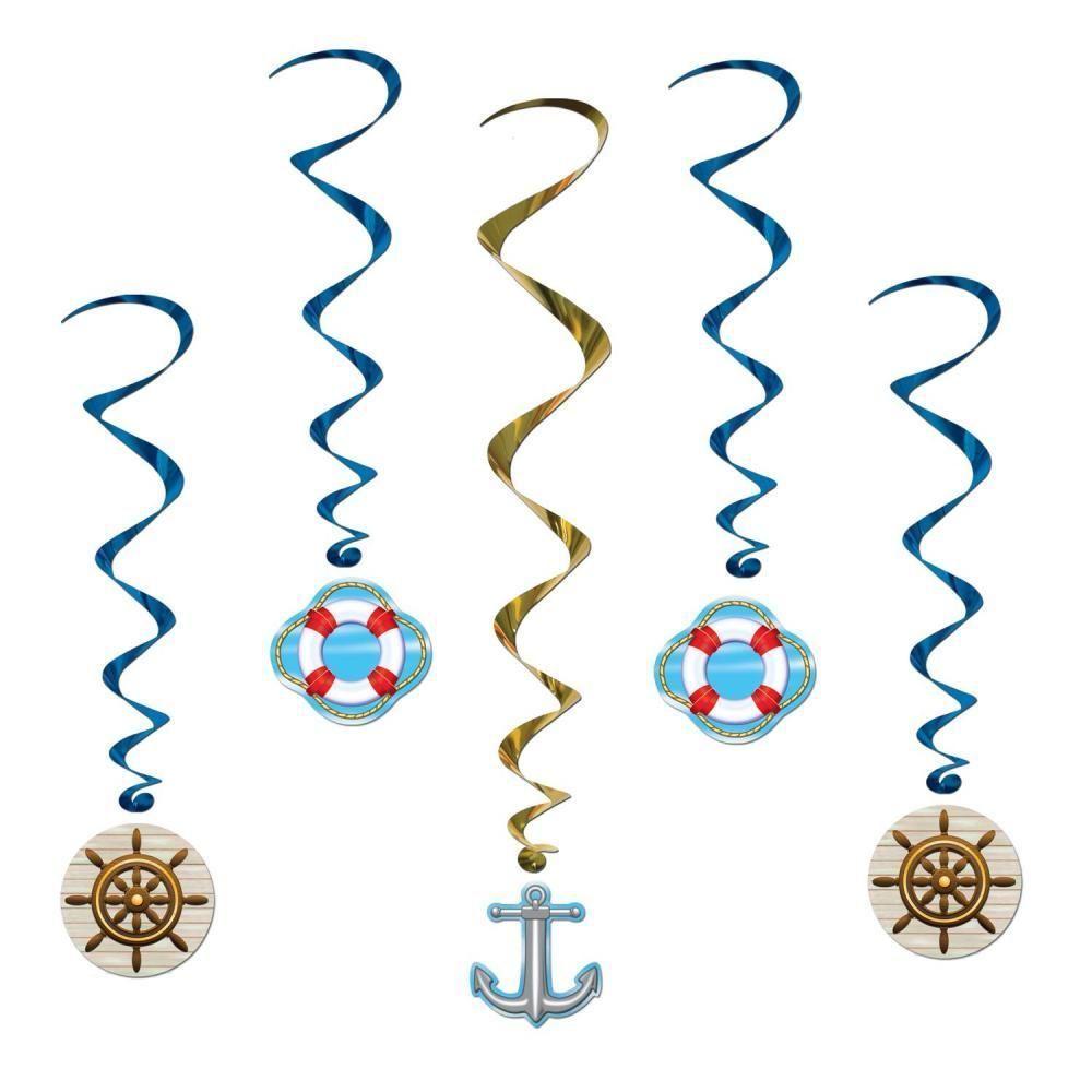 2/½-Inch Beistle Nautical Picks