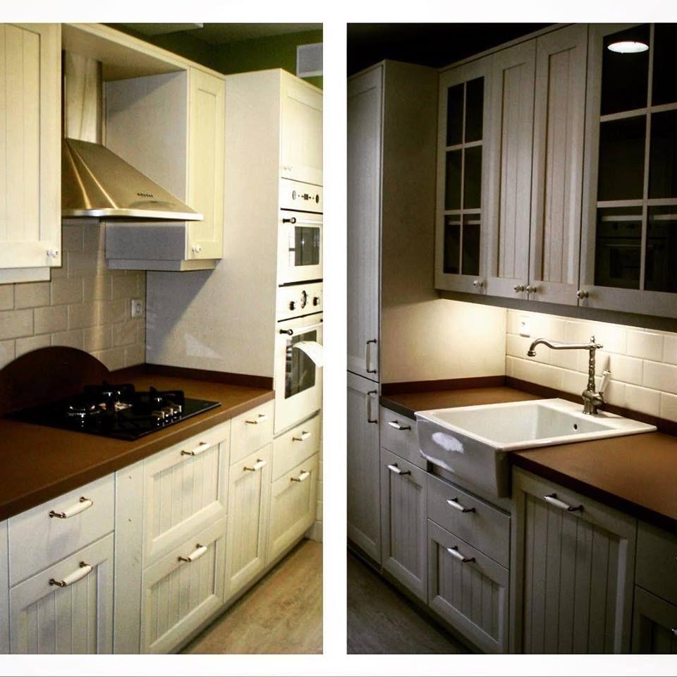 Cocina clasica en madrid muebles madera lacada blanco mate for Encimera de cocina lacada en blanco negro