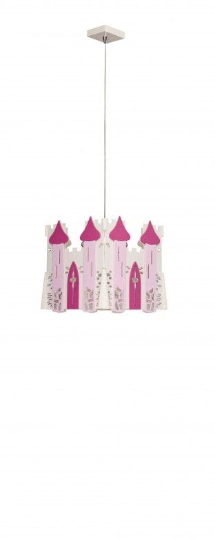 PRINCESS CASTLE PENDANT LIGHT Surely your little princess deserves a castle, but before you call the architects, consider getting her this beautiful pendant light whose design was inspired by the most lavish royal residences. #Love4Lighting #KidsLighting Read More: http://www.love4lighting.eu/kids-lights-lamps/princess-castle-pendant-light?utm_source=Pinterest%20Post&utm_medium=Pinterest%20Post&utm_content=Princess%20Castle%20Pendant%20Light&utm_campaign=Princess%20Castle%20Pendant%20Light