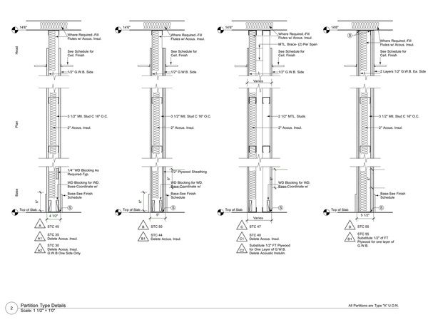 construction documents construction documents on types of structural walls id=70725
