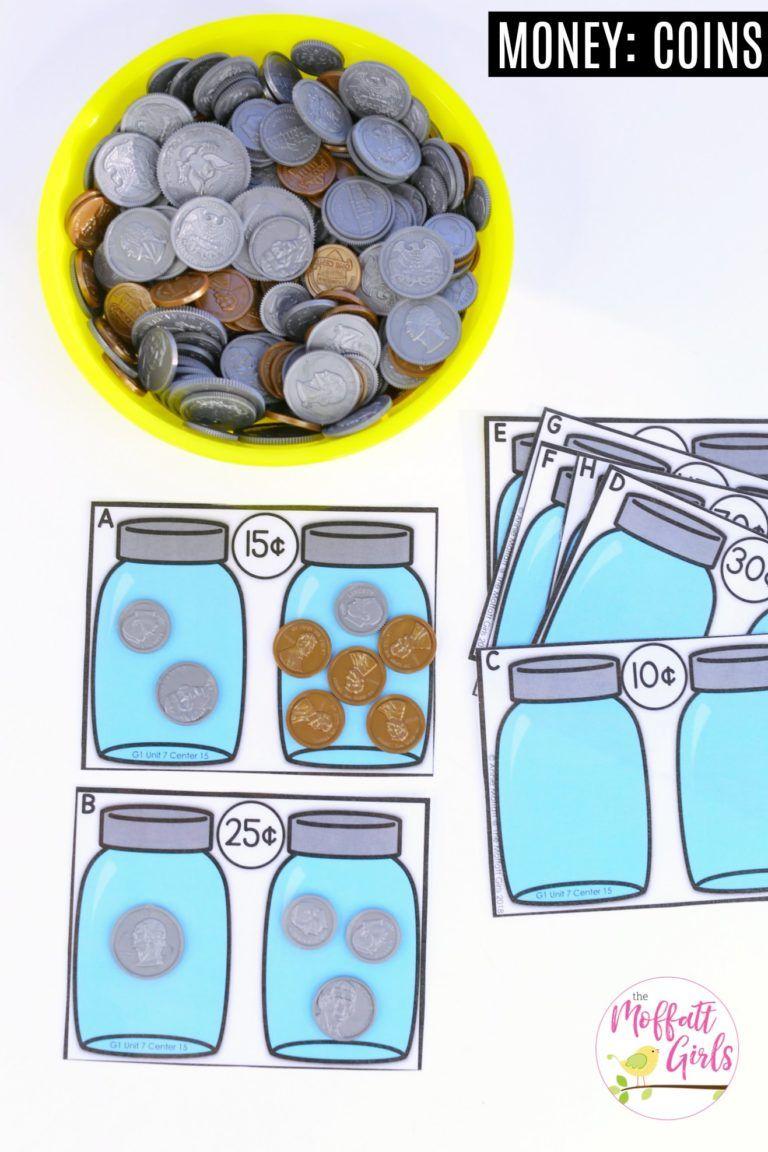 First Grade Math: Money | Math, Students and School