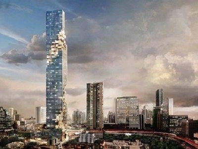 The MahaNakhon, Bangkok's tallest tower