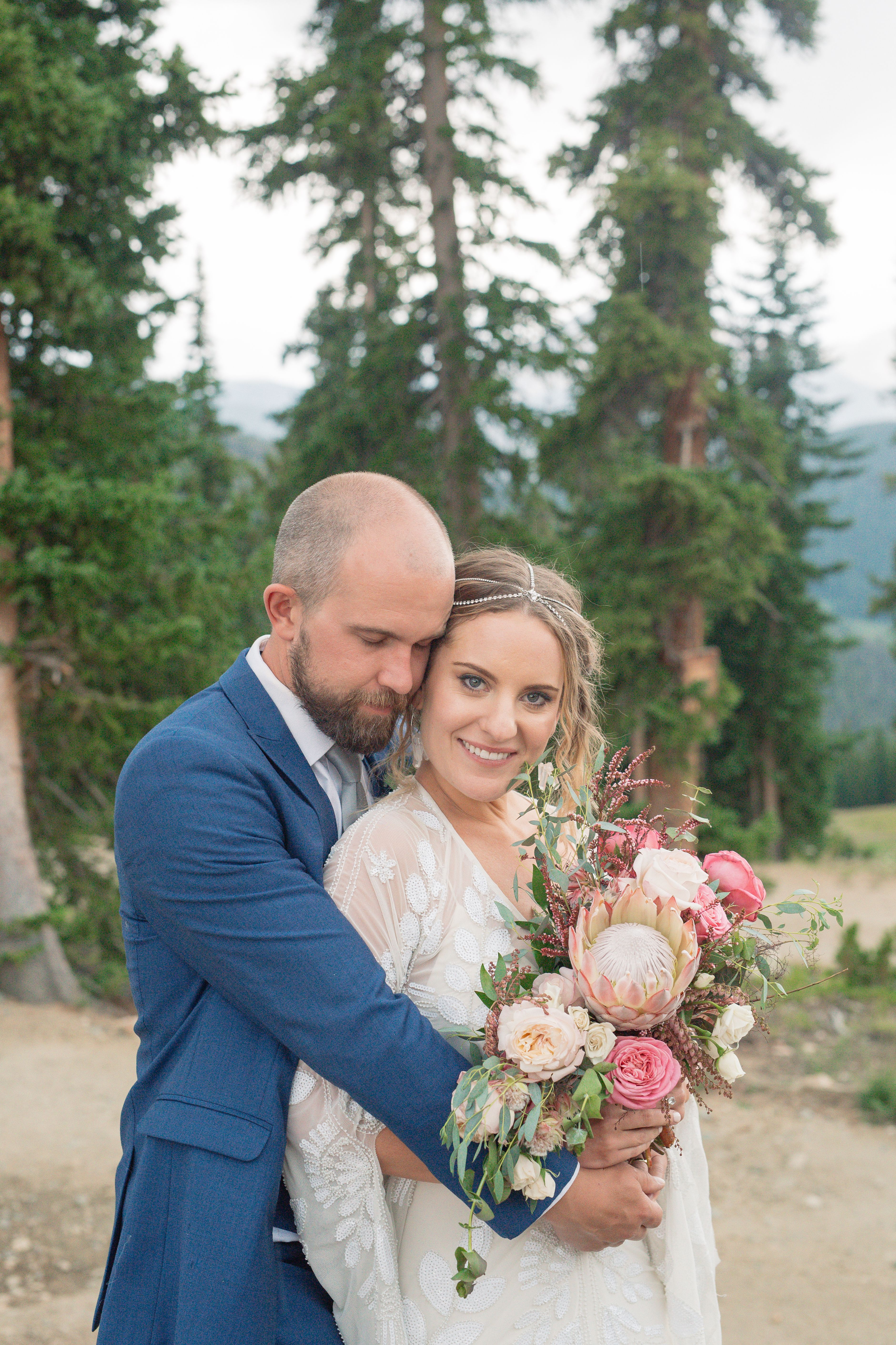 Real Borrowed Brides -Megan S. in Keystone, CO #hairchains
