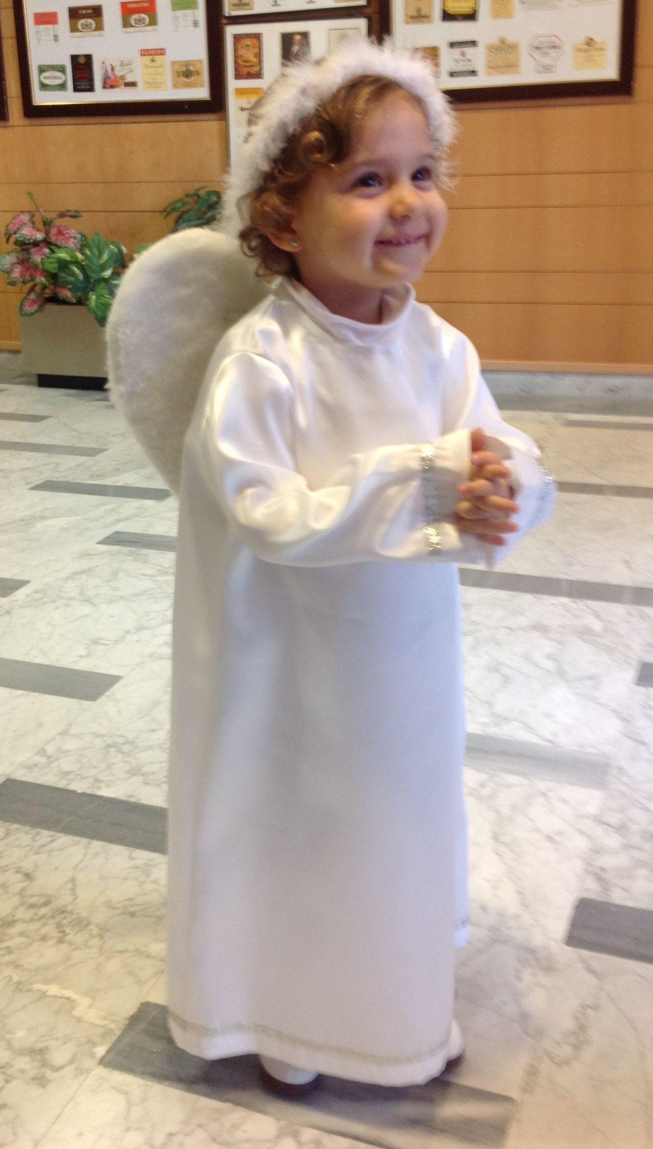 Disfraz de angelito disfraces pinterest angel for Disfraces de angeles