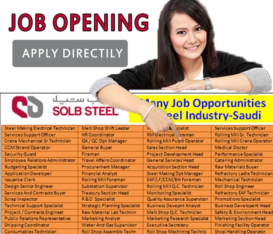 Arab Jobs Staff Recruitment Job opening, Staff