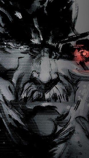 Metal Gear Solid 4 The Iphone Wallpapers Metal Gear Metal Gear Solid Joker Hd Wallpaper