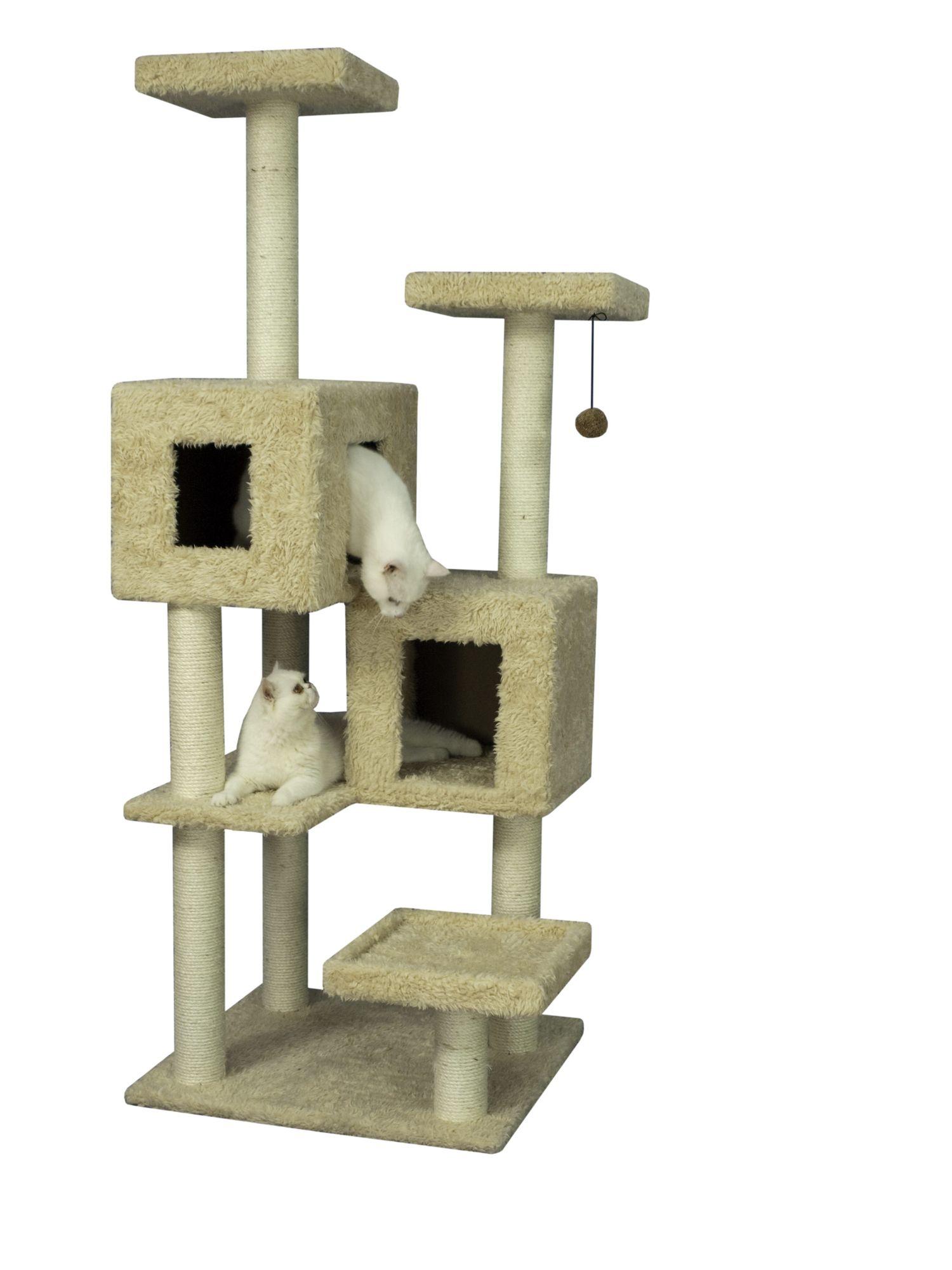 Cat Tree Kedi Evi Kedi Evler
