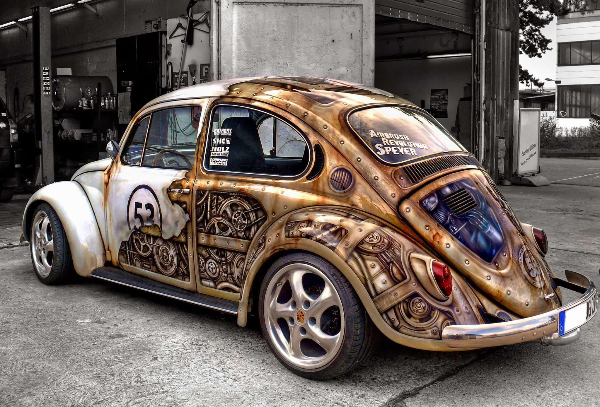 car, Gears, Old Car, Steampunk Wallpapers HD / Desktop and Mobile ...