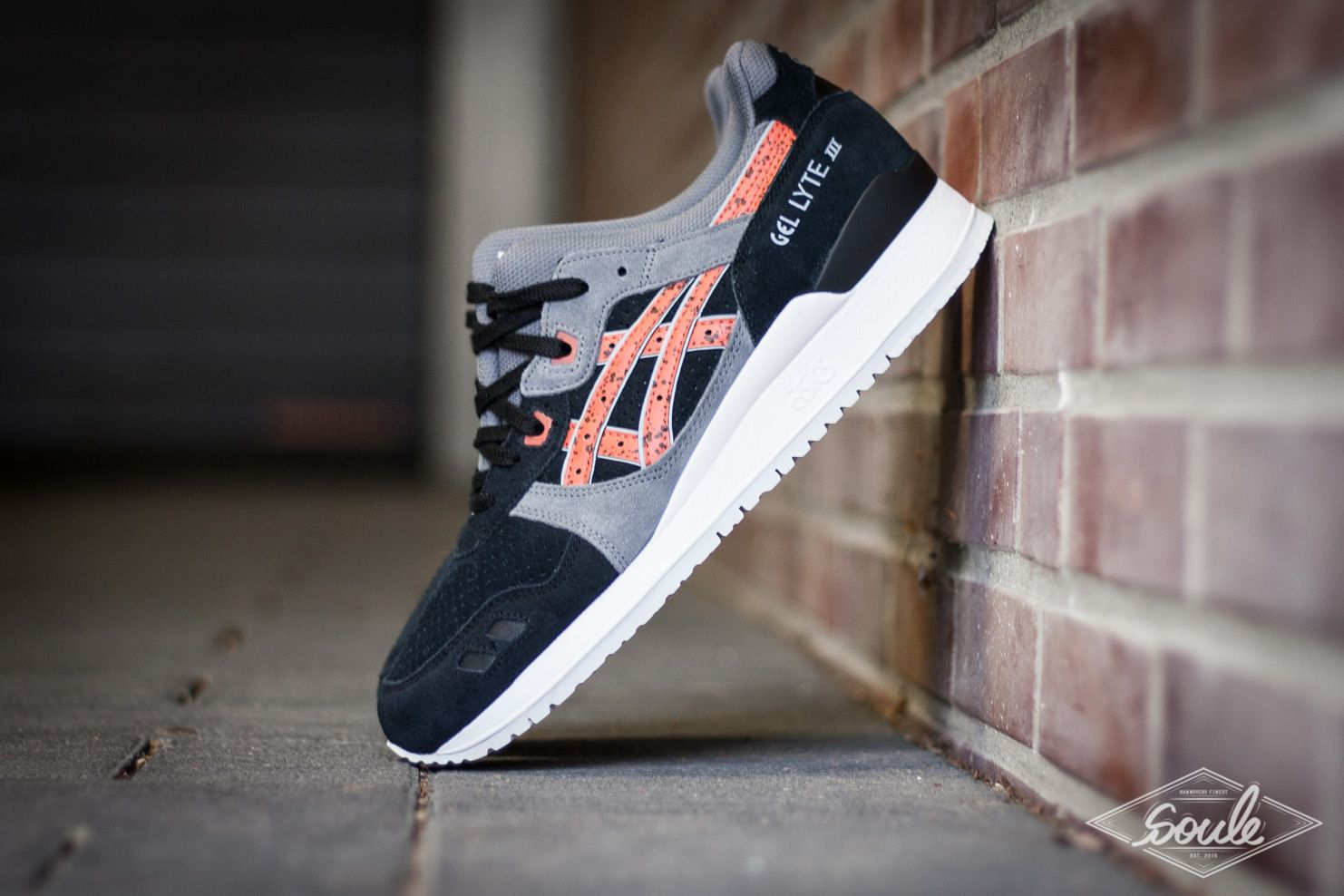 "e777591c55a7 ASICS GEL LYTE III BLACK CHILI – ""GRANITE PACK"