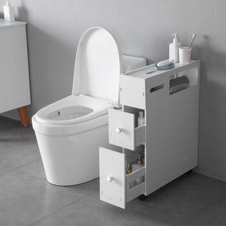 Bathroomstorage In 2020 Bathroom Floor Cabinets Narrow Storage Cabinet Slim Bathroom Storage