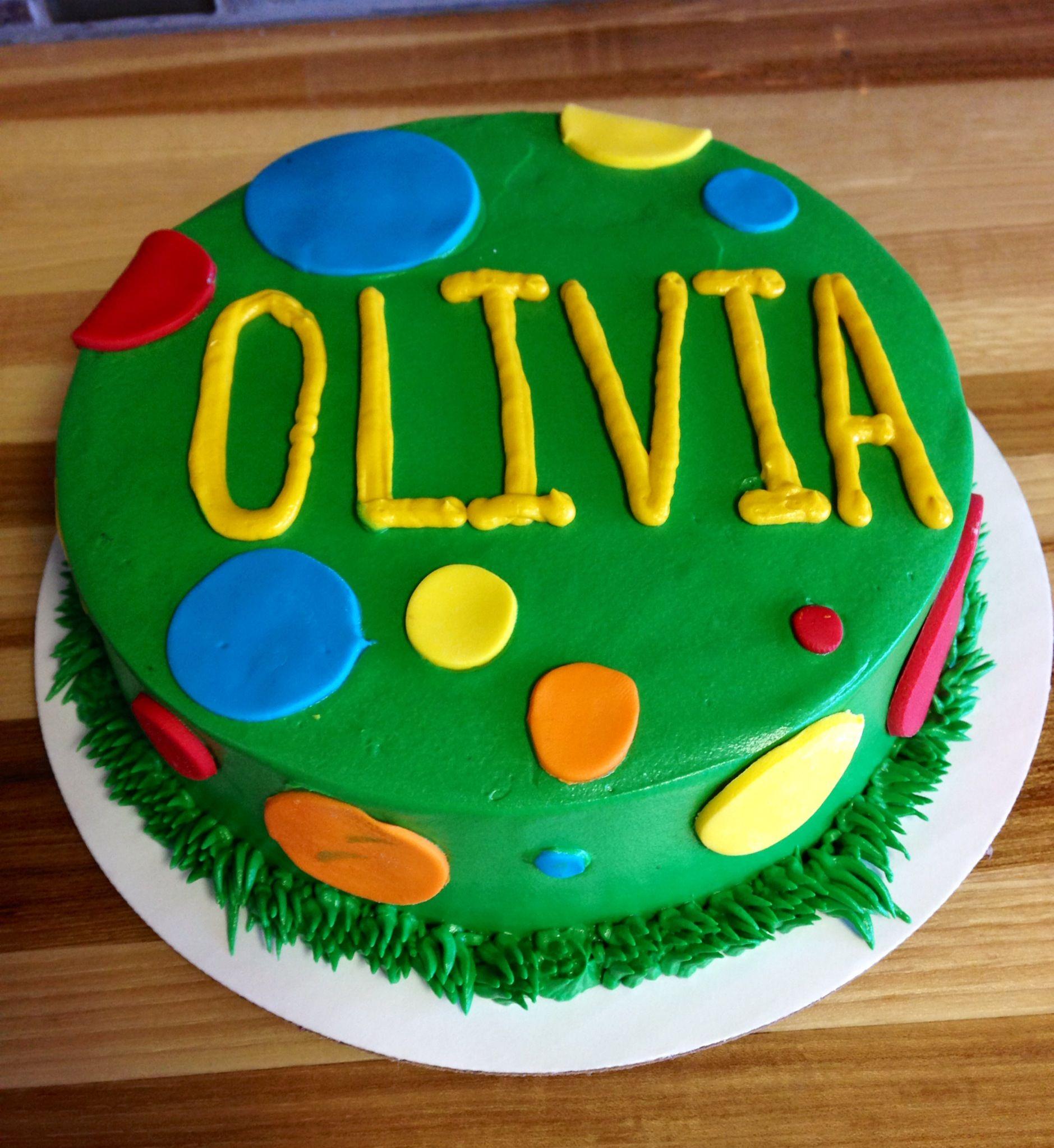 bright colored birthday cake  Kids Birthday Cakes  Pinterest