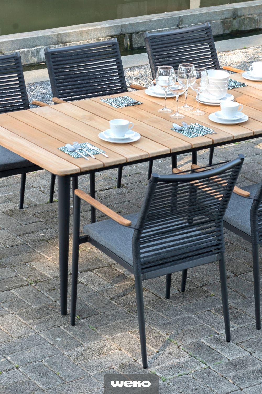 Moderne Und Leichte Sitzgruppe Aus Aluminium Von Zebra Garten