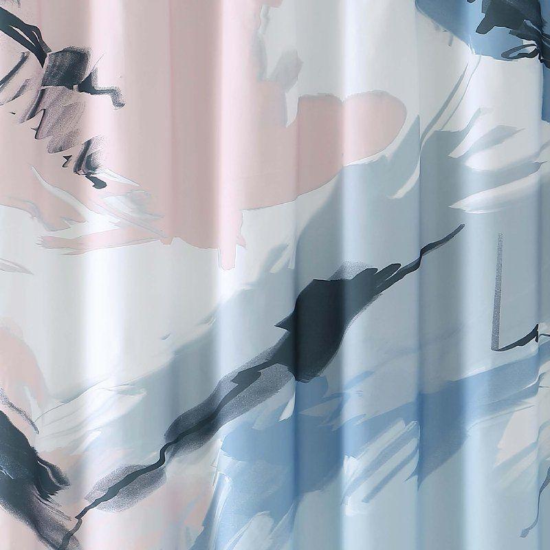 Vince Camuto Capri Single Shower Curtain Wayfair Fabric Shower
