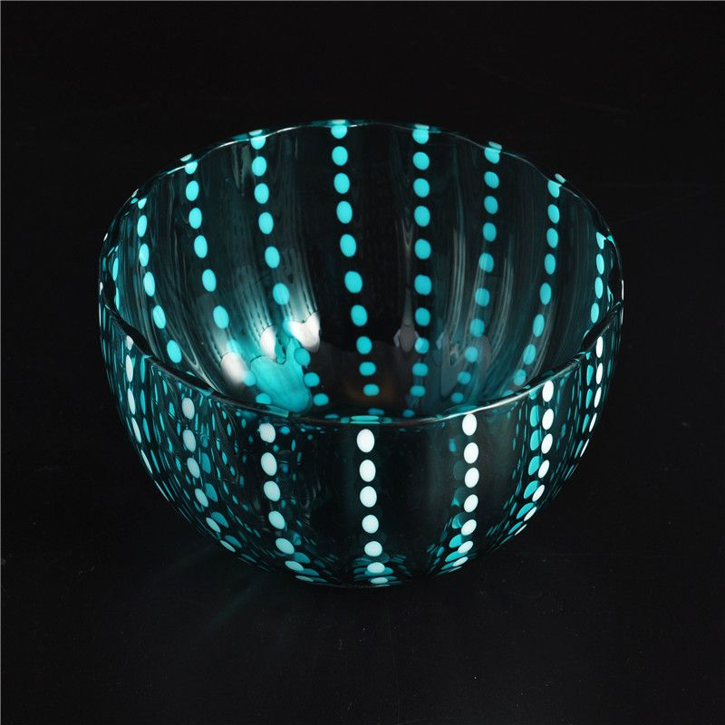 Home decoration for new design glass candle holder