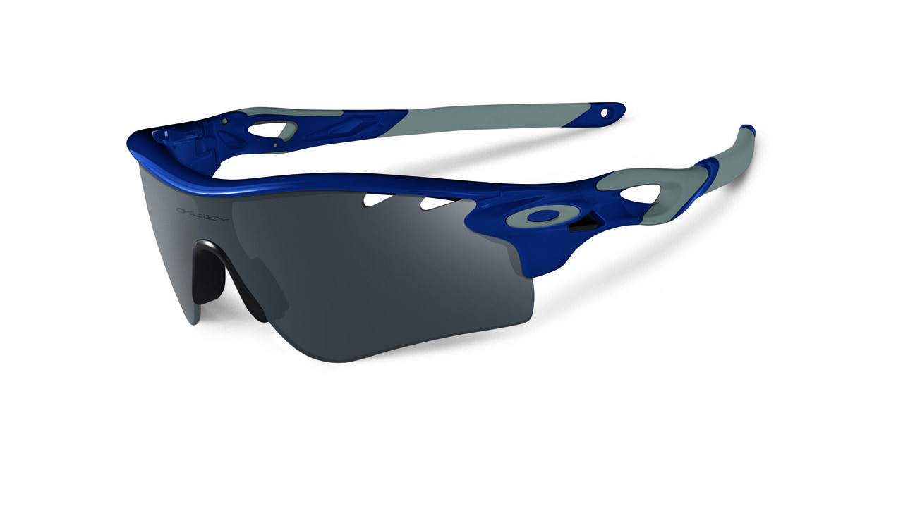 217dda757a My Triathlon - Oakley Sports Performance Sunglasses - Radarlock - Polished  Navy Frame - Black Iridium Vented