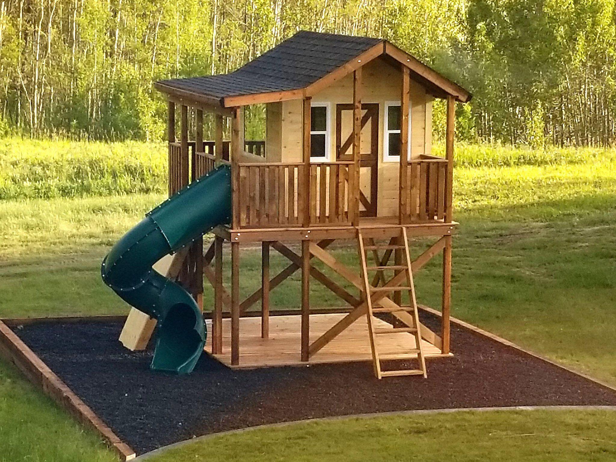 Randy S Ranch Playhouse Plan Play Houses Build A Playhouse Backyard Playground Diy backyard playhouse plans free