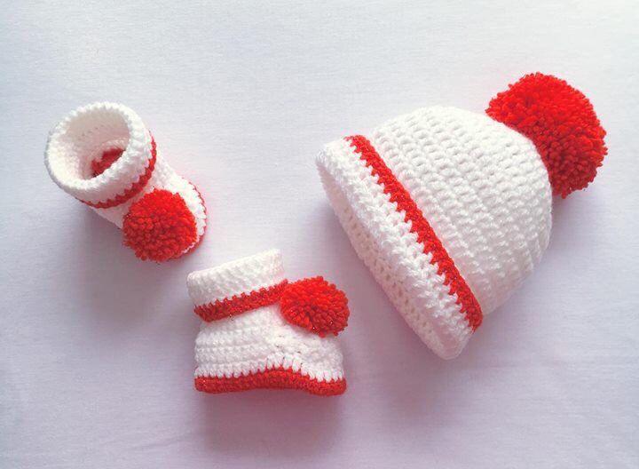 Crochet Baby Gift Set b23112a5e54