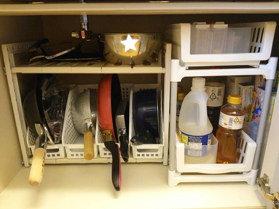 100均の便利アイテムを使ってキッチンをオシャレに収納しよう