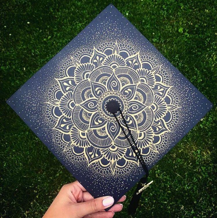 Mandala Graduation Cap By Julie Delgado Graduation Cap