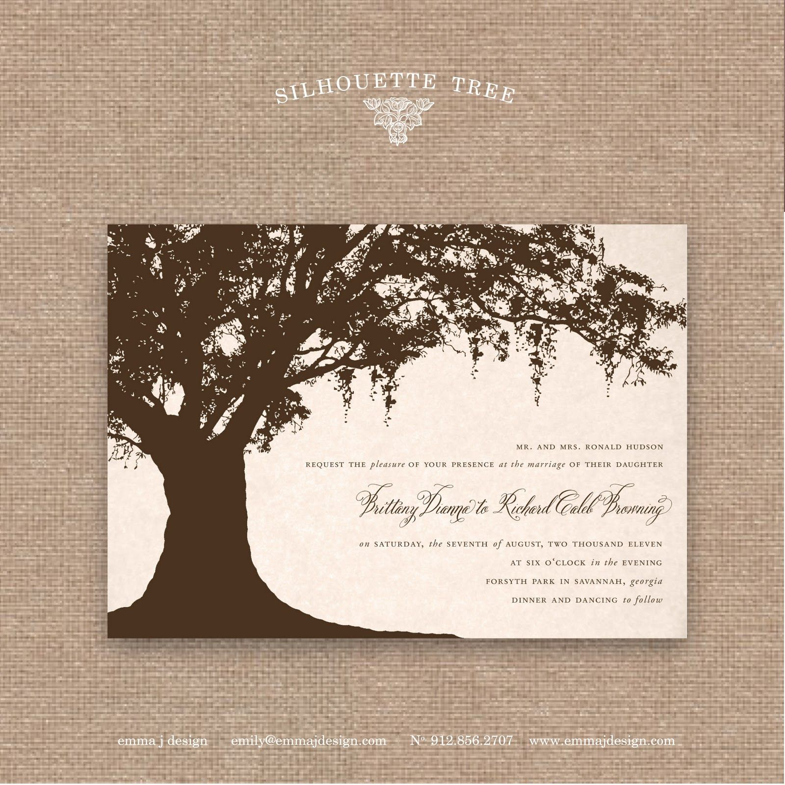 Awesome Savannah Designer, Emily McCarthy : BLOG: The Savannah Collection :  Savannah Wedding Invitations { Amazing Ideas