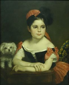 Margaret Krum DeWolfe, Chester Harding, not dated, oil on canvas, 27 1/2 in. x 22 1/2 in. Currier Museum of Art.