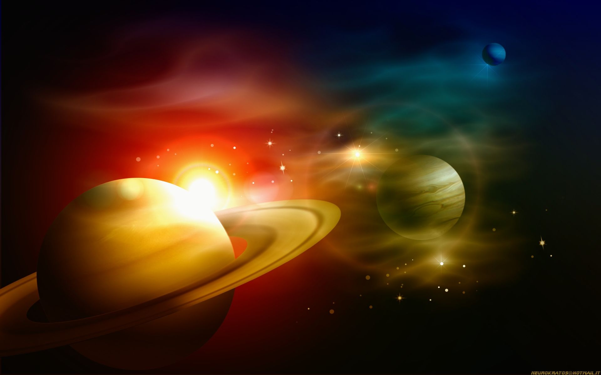 Space star sun pixel wallpaper solar planets wallpapers for Space and outer space