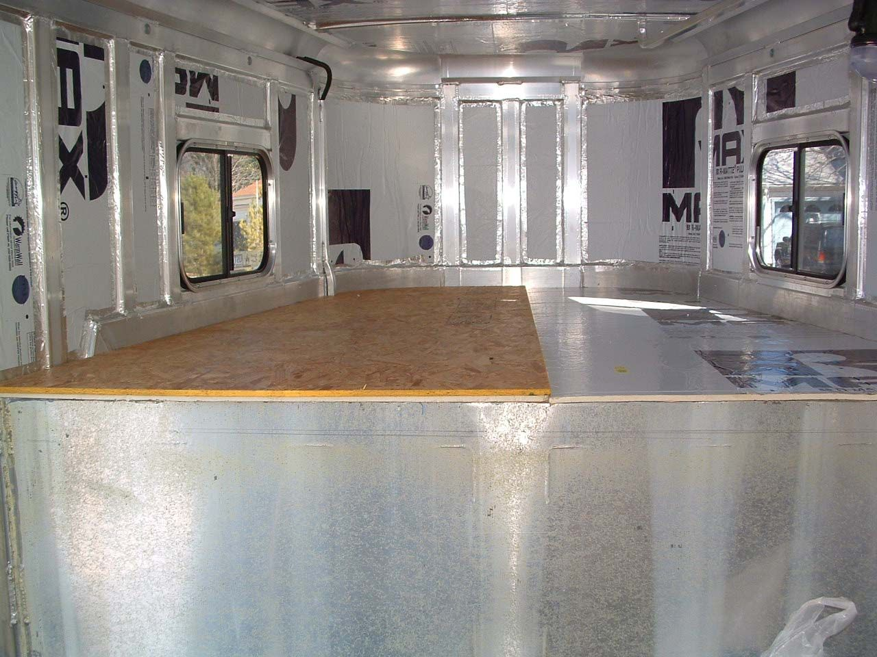 Insulate Your Horse Trailer Or Horsebox Before Fitting Living Wiring A Livestock Quarters