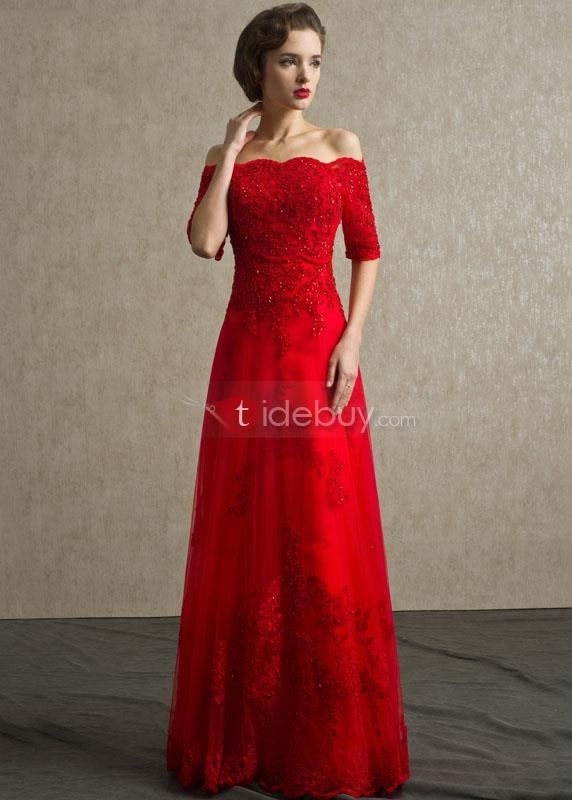 Resultado De Imagen Para Vestido Rojo Largo De Noche En 2019