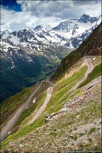 Alpine Road Tyrol