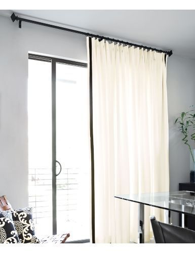 Large Single Panel Of Curtains For Sliding Glass Door Patio Door
