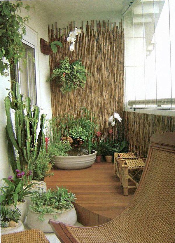 17 trucos para sacar partido a balcones pequeños Balcones, Plantas - decoracion de terrazas con plantas
