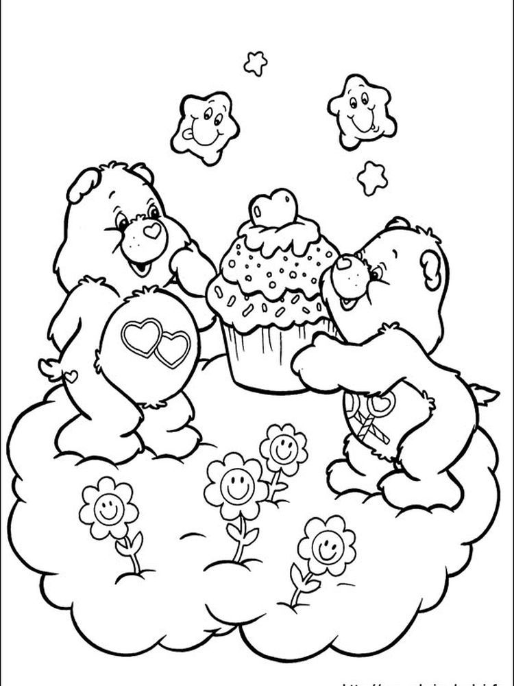 Care Bear Rainbow In 2020 Bear Coloring Pages Cool Coloring Pages
