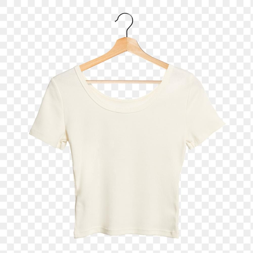 Download Png White T Shirt Mockup On A Wooden Hanger Free Image By Rawpixel Com Kanate Clothing Mockup Shirt Mockup Fashion