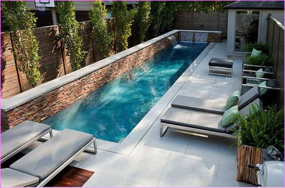Best Pool Designs For Small Yards | Pool Pipe Dreams | Pinterest ...
