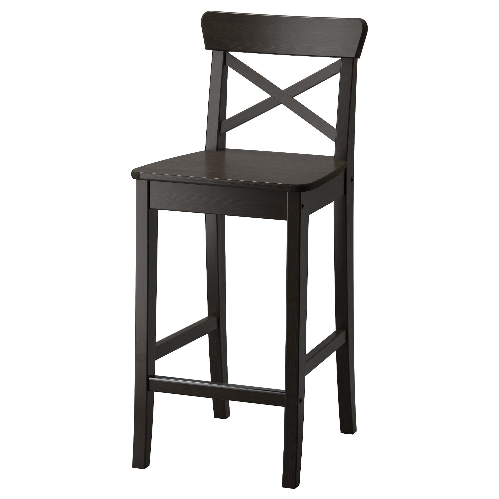 Merveilleux INGOLF Bar Stool With Backrest   IKEA