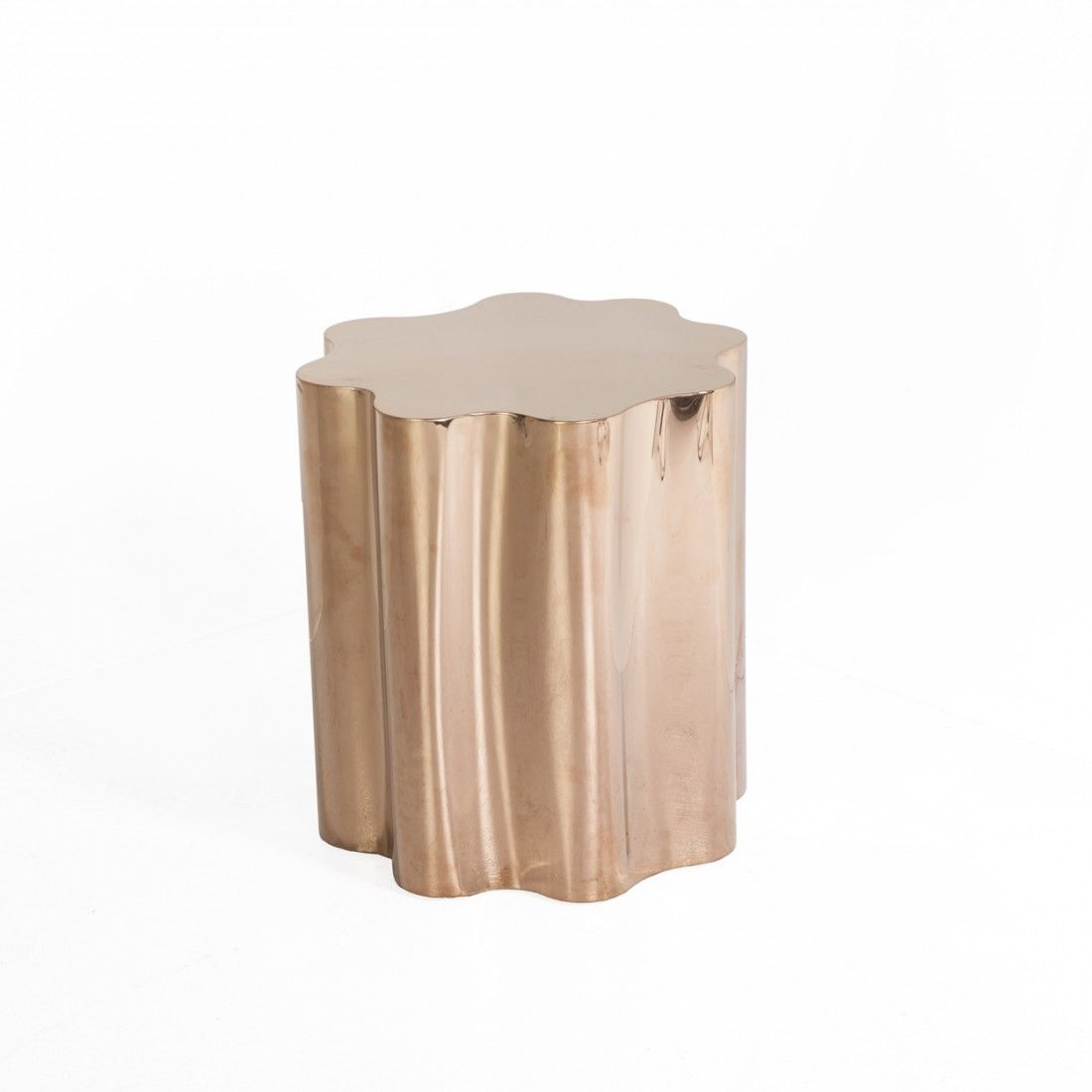 Fideer Side Table Rose Gold Modern # Meuble Tv Rose