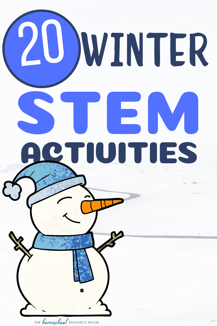 20 Winter STEM Activities! #stemactivitieselementary