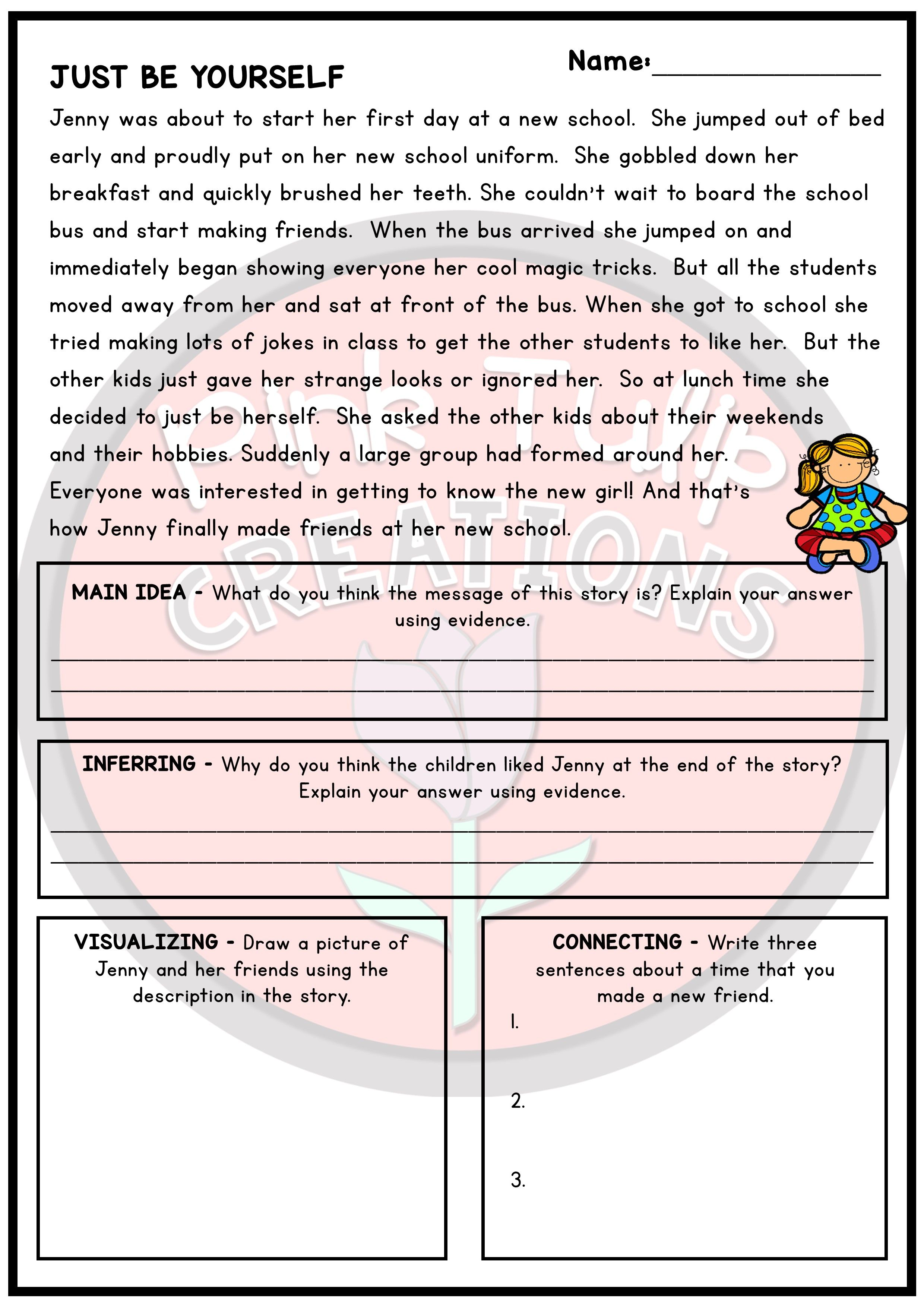 30 Engaging Reading Passages With A Range Of Reading Strategies And Questions To Develop Comp Reading Strategies Reading Comprehension Worksheets Comprehension