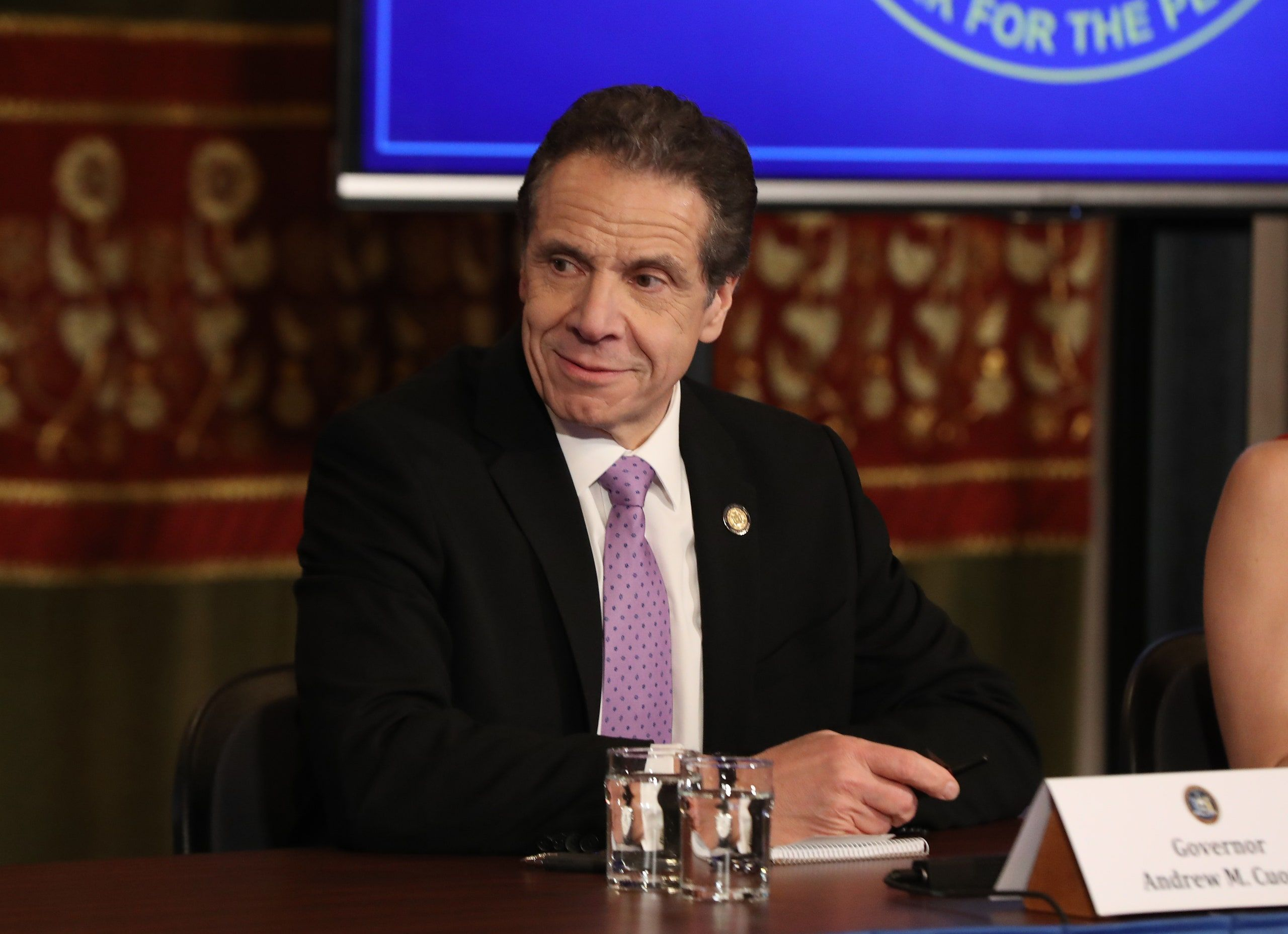 After Trump S Twitter Barrage Cuomo Responds Maybe He Should Get Up And Go To Work In 2020 Andrew Cuomo Andrew Governor