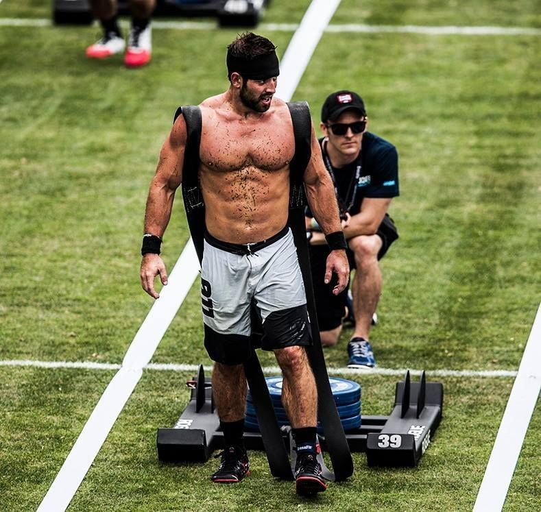 3 years in a row crossfit games champ Rich Froning .... #Advocare product user and athletic endorser.