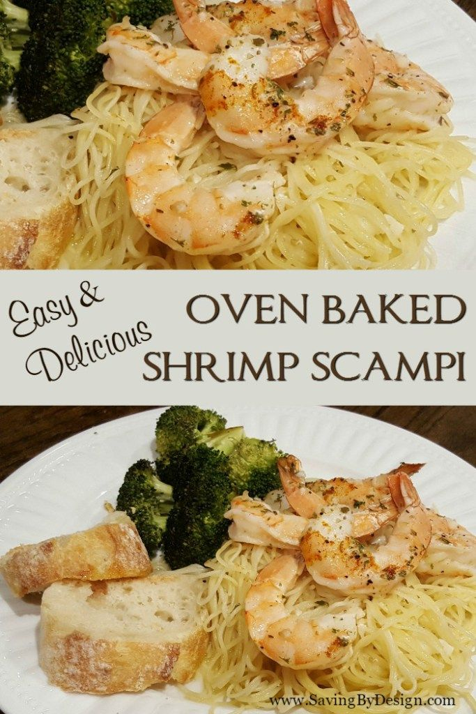 make the perfect shrimp scampi without standing by the stove to cook rh pinterest com