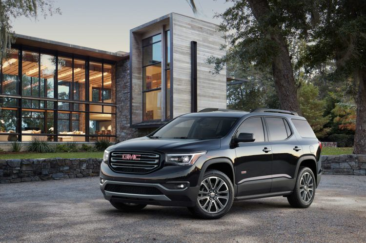 2017 Gmc Acadia Review Ratings Specs Prices And Photos Suv